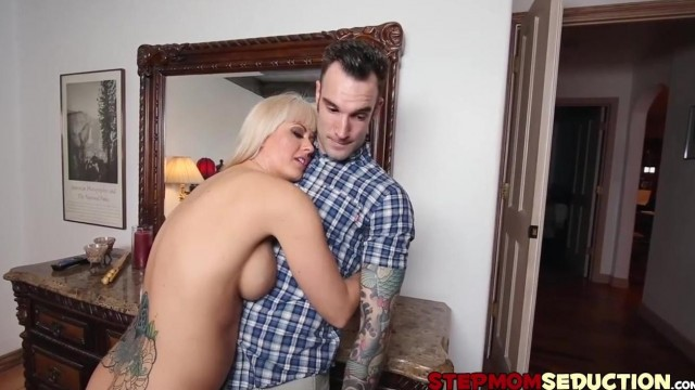 STEPMOM SEDUCTION - Stepmom teaches her daughter how to fuck Video thumb #3