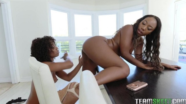 Teamskeet - Free Black and Ebony lesbian Porn Video thumb #19