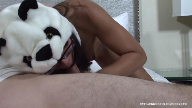 Blowjob - Asian Panda Gives Head Video thumb #14