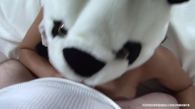 Blowjob - Asian Panda Gives Head Video thumb #18