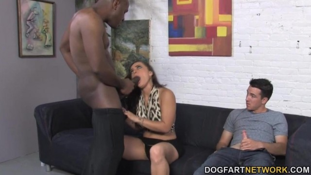 Cuckold Sessions - Liza Del Sierra enjoys BBC in front of him Video thumb #9
