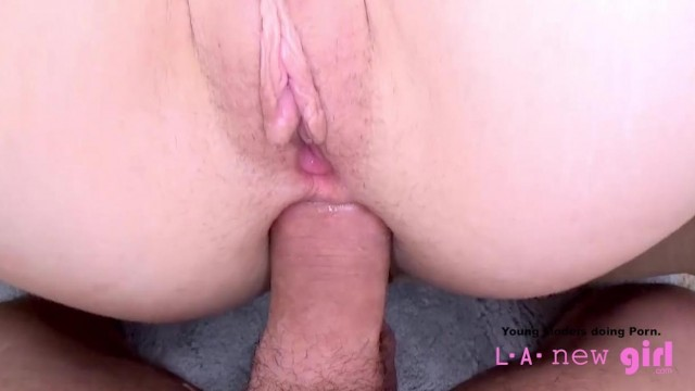 Teen anal at the casting