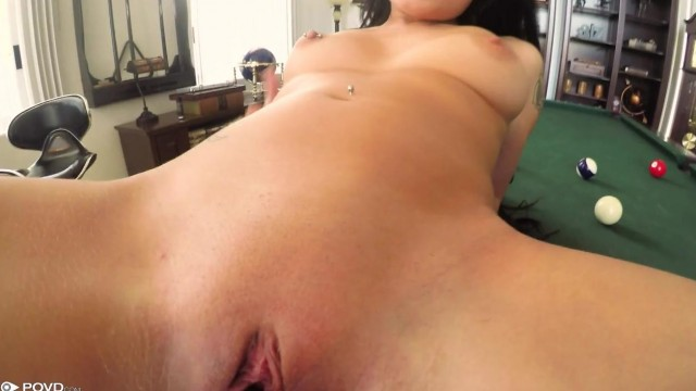 POVD Porn - Brunette gives head Video thumb #11