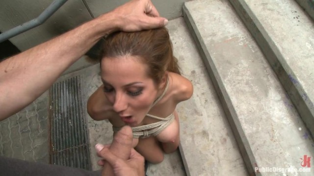 Public Disgrace - Street naked bondage Video thumb #14