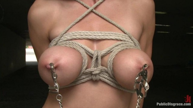 Public Disgrace - Street naked bondage Video thumb #7