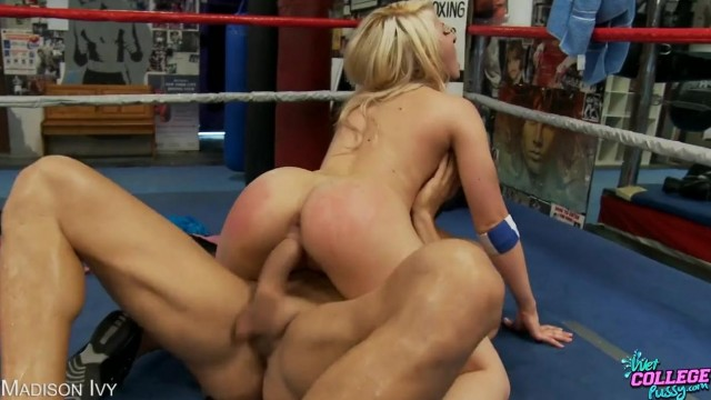 Madison Ivy fucked on a boxing ring Video thumb #11
