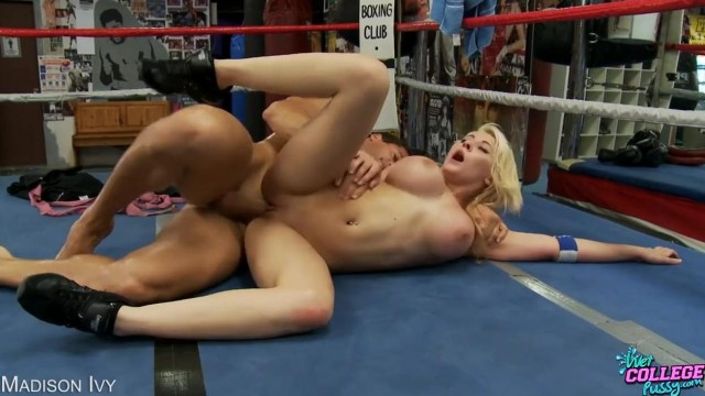 Madison Ivy fucked on a boxing ring Video thumb #12