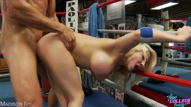 Madison Ivy fucked on a boxing ring Video thumb #17