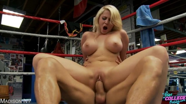 Madison Ivy fucked on a boxing ring Video thumb #7