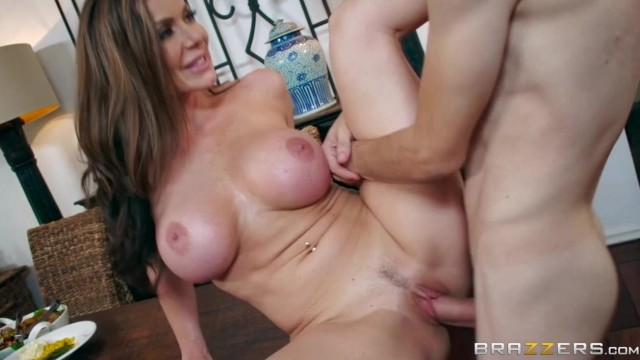 BRAZZERS - Aunt touches his dick under table and fuck Video thumb #9