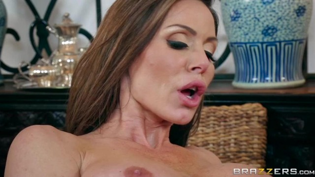 BRAZZERS - Aunt touches his dick under table and fuck Video thumb #11