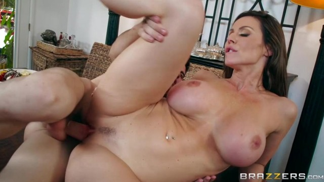 BRAZZERS - Aunt touches his dick under table and fuck Video thumb #17