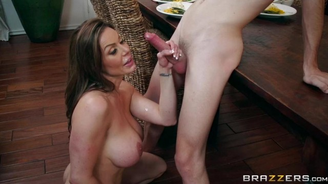 BRAZZERS - Aunt touches his dick under table and fuck Video thumb #19