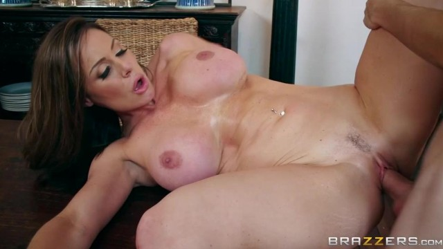 BRAZZERS - Aunt touches his dick under table and fuck Video thumb #5
