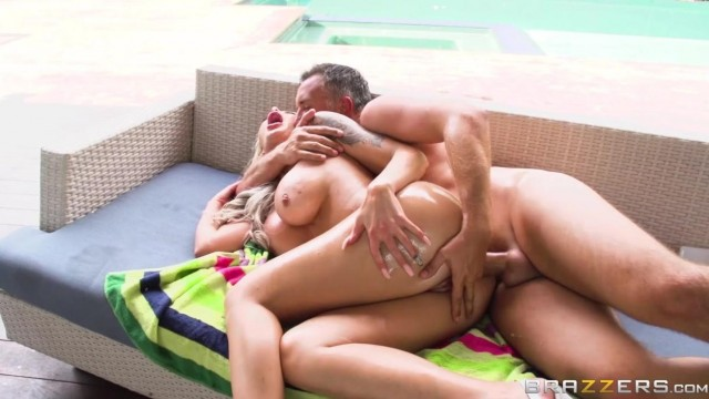 BRAZZERS - Oiled Mom surprise anal sex Video thumb #13