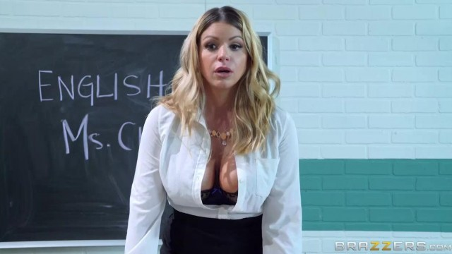BRAZZERS Threesome - Big tits teacher fucked by Jordi Video thumb #1