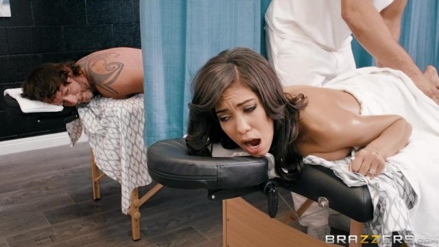 Brazzers - Massage Table Porn With Hot Latina