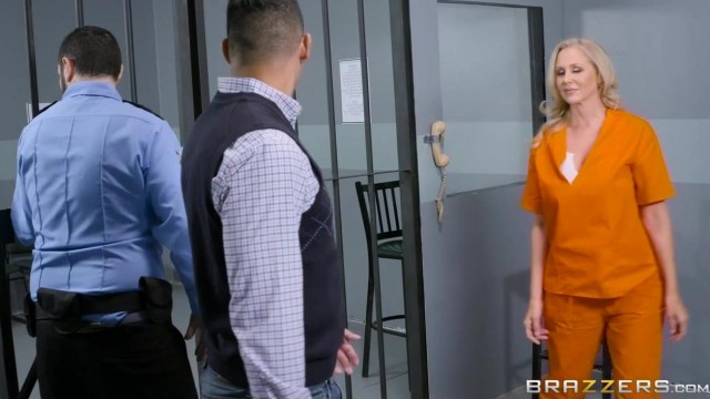 Brazzers Prison - Hot stepmom fucked in jail porn