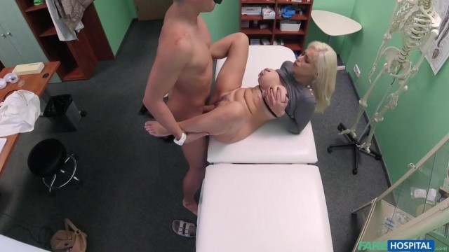 Fake Hospital - Big boobs blonde patient Video thumb #15