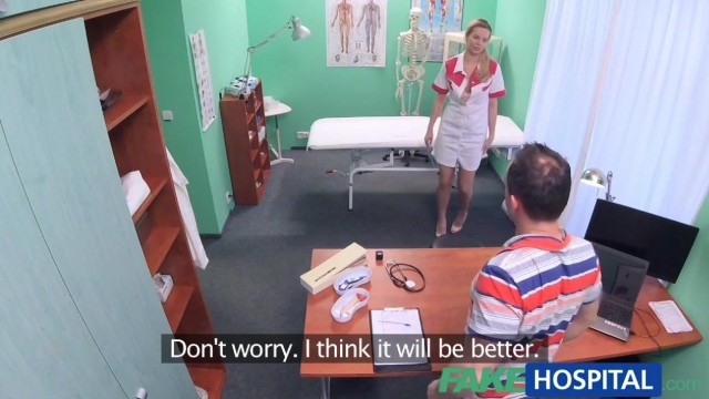 Fake Hospital - Nurse seduces IT Guy Video thumb #1