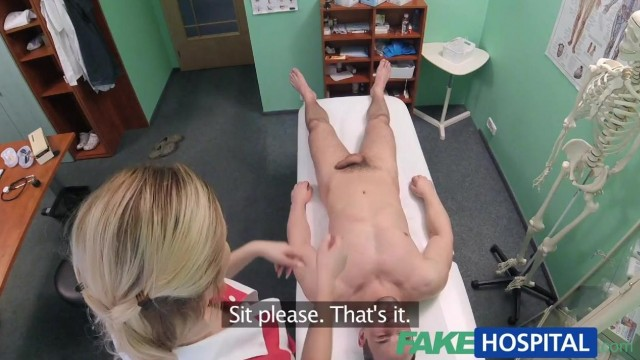 Fake Hospital - Nurse seduces IT Guy Video thumb #2