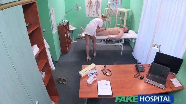 Fake Hospital - Nurse seduces IT Guy Video thumb #4