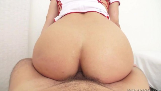 Slutty nurse Abella Danger anal at the hospital Video thumb #12