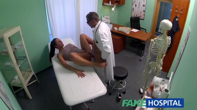 FakeHospital - Dick loving brunette MILF nailed in hospital Video thumb #12