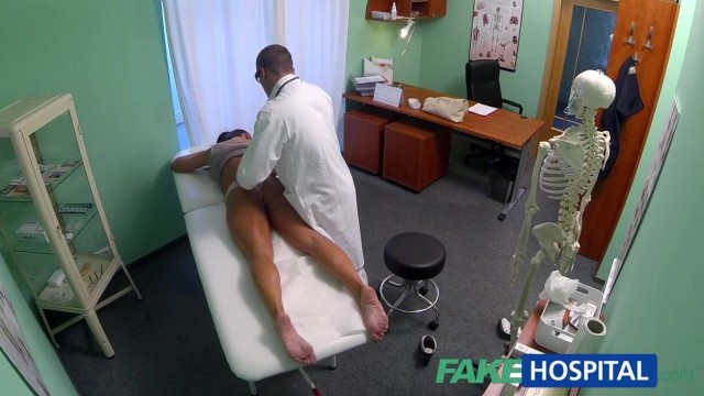 FakeHospital - Dick loving brunette MILF nailed in hospital Video thumb #8