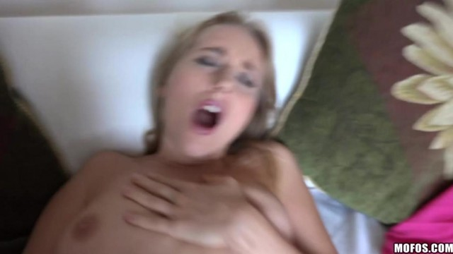 Blonde young wife agrees to suck and ride his cock for money Video thumb #16