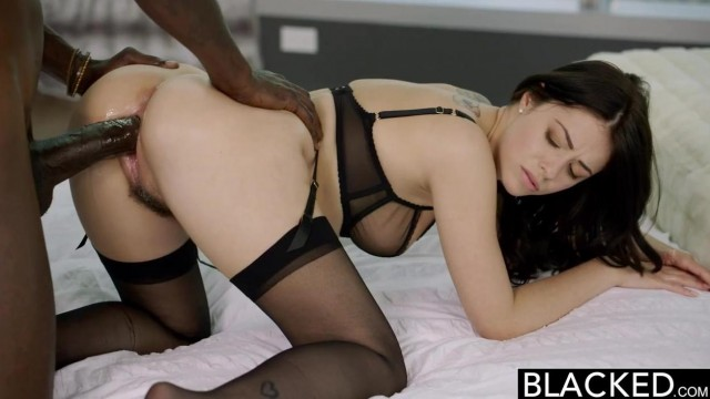 Ava Dalush gets blacked by big black cock