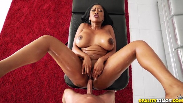 Black MILF Porn - Big ass ebony nailed by pink cock Video thumb #9