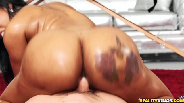 Black MILF Porn - Big ass ebony nailed by pink cock Video thumb #15