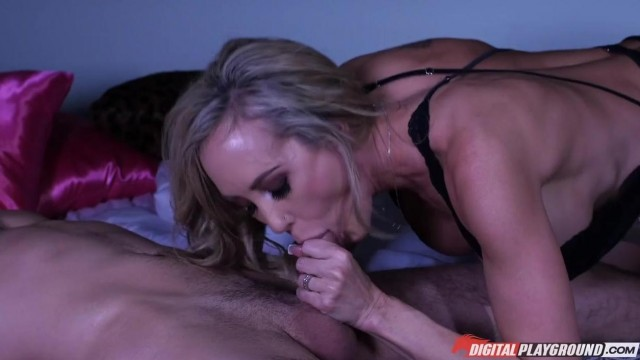 MILF caught him jerking off and help him with a blowjob Video thumb #3