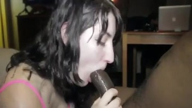 Real Amateur Cuckold - She sucks BBC and swallow Video thumb #11