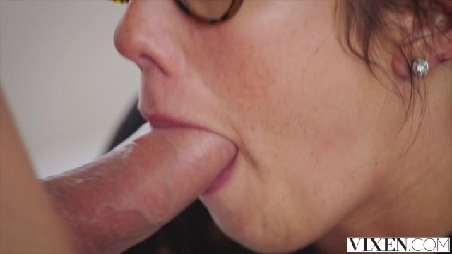 Vixen com - Latina in open pantyhose takes big dick deep inside Video thumb #8