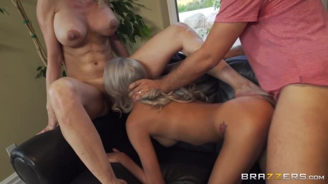 Brazzers threesome experience with two hot bitches Video thumb #14