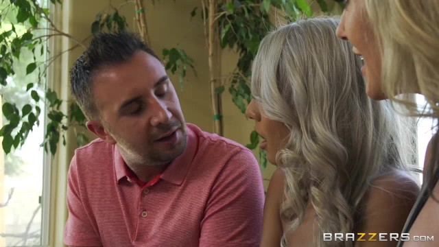 Brazzers threesome experience with two hot bitches Video thumb #2