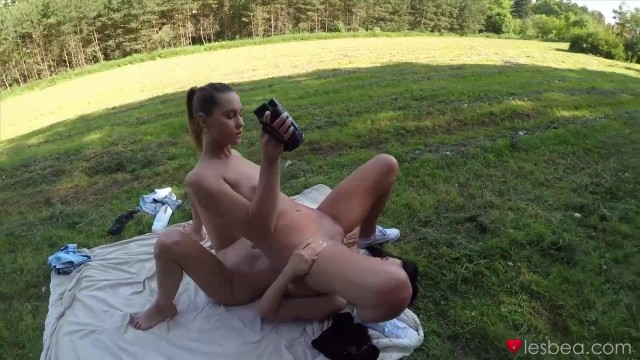 Young Naked Lesbians Licking Pussies Outdoor Video thumb #14
