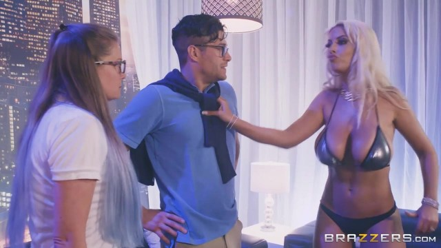 BRAZZERS - Bridgette B is a striptease dancer with huge boobs Video thumb #0