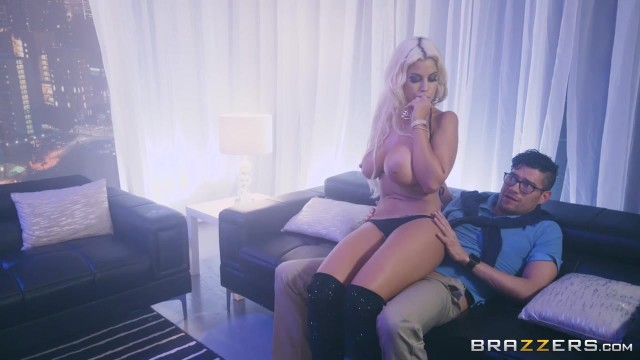 BRAZZERS - Bridgette B is a striptease dancer with huge boobs Video thumb #9