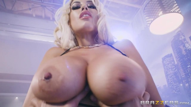 BRAZZERS - Bridgette B is a striptease dancer with huge boobs