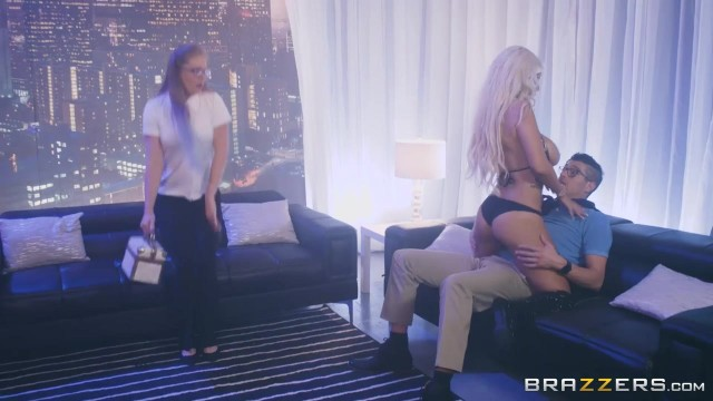 BRAZZERS - Bridgette B is a striptease dancer with huge boobs Video thumb #4