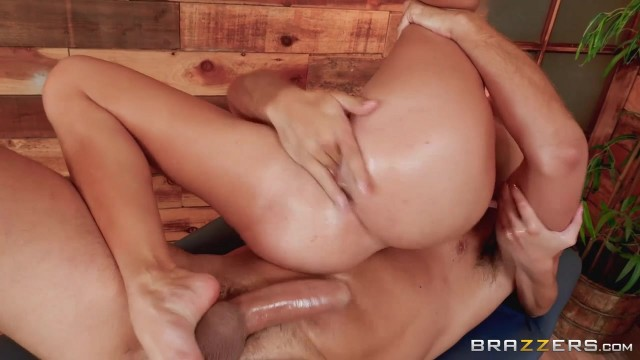 BRAZZERS - Brunette with oiled tits fucked Video thumb #10