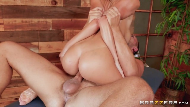 BRAZZERS - Brunette with oiled tits fucked Video thumb #14