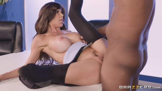 Brazzers - Busty Cougar Spits On BBC Before Sex Video thumb #13