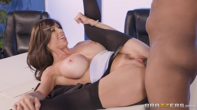 Brazzers - Busty Cougar Spits On BBC Before Sex Video thumb #17
