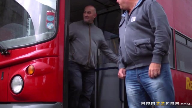 Brazzers Madison Ivy ,Jasmine Jae and Danny D playing in the bus Video thumb #2