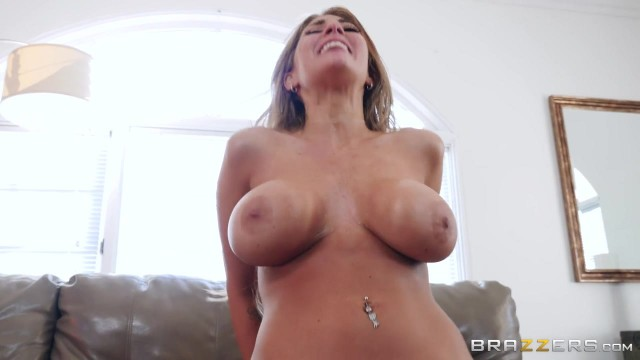 BRAZZERS com - Busty MILF Gags On Big Cock Video thumb #10