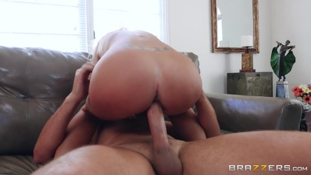 BRAZZERS com - Busty MILF Gags On Big Cock Video thumb #14